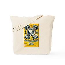 the telephone girl Tote Bag