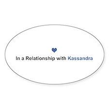 Kassandra Relationship Oval Decal