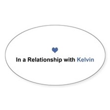 Kelvin Relationship Oval Decal
