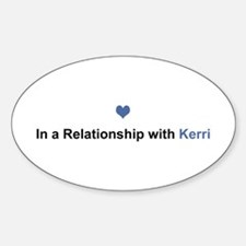 Kerri Relationship Oval Decal