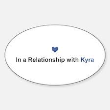 Kyra Relationship Oval Decal