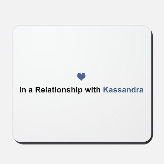 Kassandra Relationship Mousepad