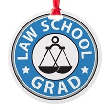 Law School Grad Ornament