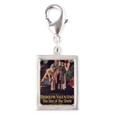 the son of the sheik Silver Portrait Charm
