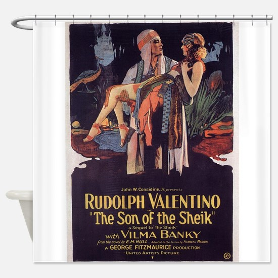 the son of the sheik Shower Curtain