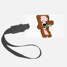 Bacon Zombie Luggage Tag