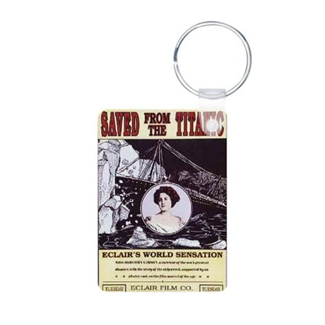 saved from the titanic Aluminum Photo Keychain