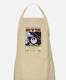 saved from the titanic Apron
