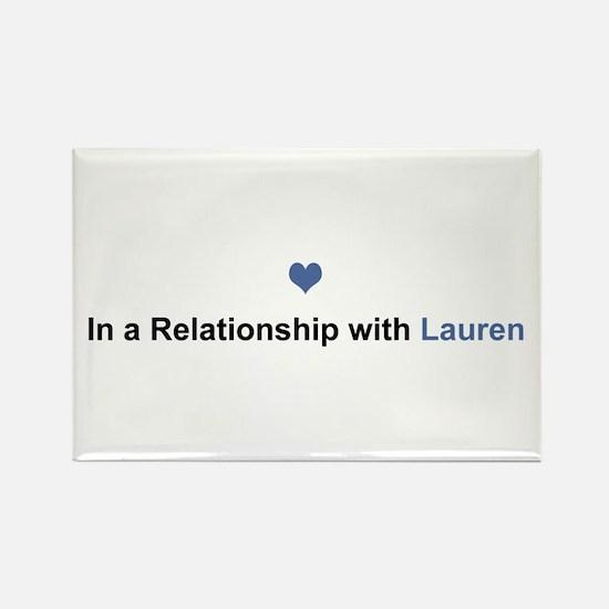Lauren Relationship Rectangle Magnet