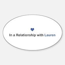 Lauren Relationship Oval Decal
