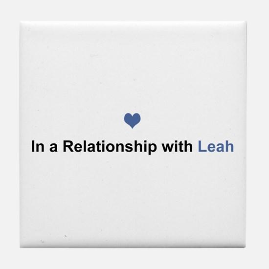Leah Relationship Tile Coaster