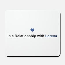 Lorena Relationship Mousepad