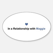 Maggie Relationship Oval Decal