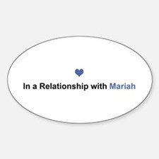Mariah Relationship Oval Decal