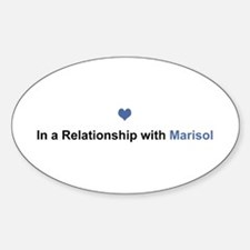 Marisol Relationship Oval Decal