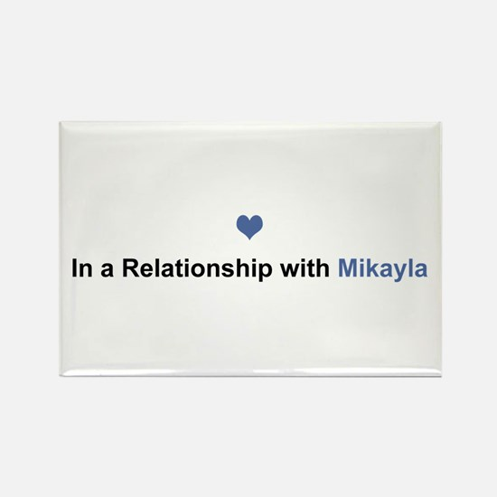 Mikayla Relationship Rectangle Magnet