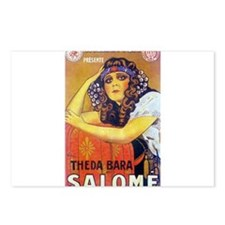 theda bara Postcards (Package of 8)