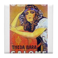 theda bara Tile Coaster
