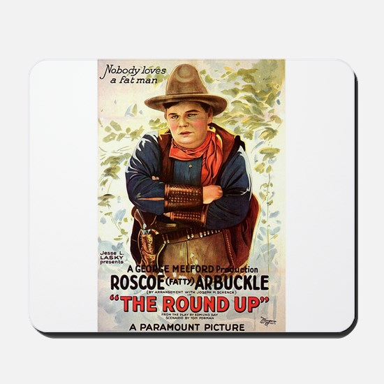 the round up Mousepad