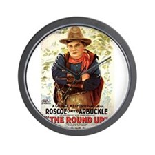 the round up Wall Clock