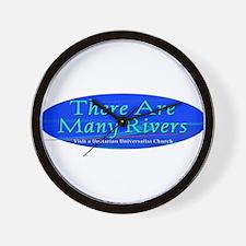 Cute River Wall Clock