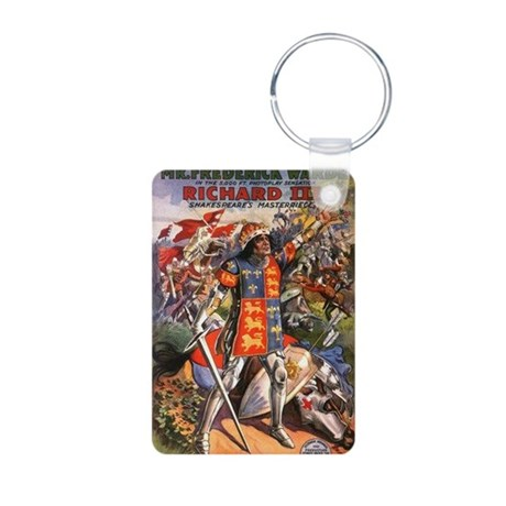 silent movie Aluminum Photo Keychain