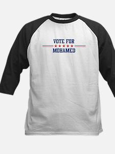 Vote for MOHAMED Kids Baseball Jersey