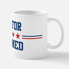 Vote for MOHAMED Mug