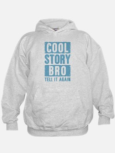 Cool Story Bro [blue] Hoodie