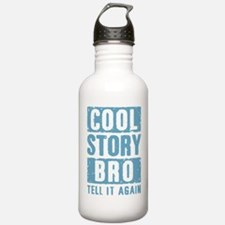 Cool Story Bro [blue] Water Bottle