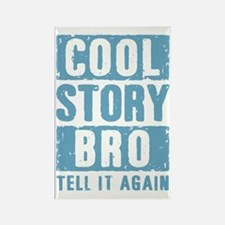 Cool Story Bro [blue] Rectangle Magnet