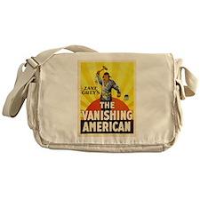 the vanishing american Messenger Bag