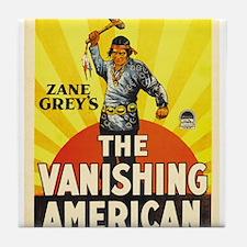the vanishing american Tile Coaster