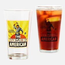 the vanishing american Drinking Glass