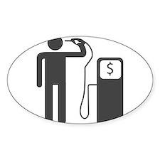 Petrol Gun To The Head Decal