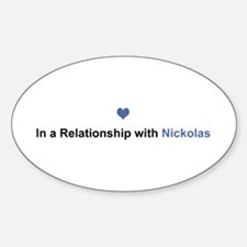 Nickolas Relationship Oval Decal