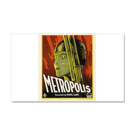 metropolis Car Magnet 20 x 12