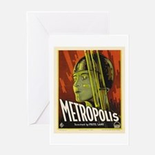 metropolis Greeting Card