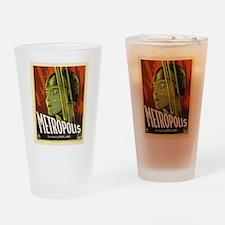 metropolis Drinking Glass