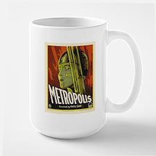metropolis Large Mug