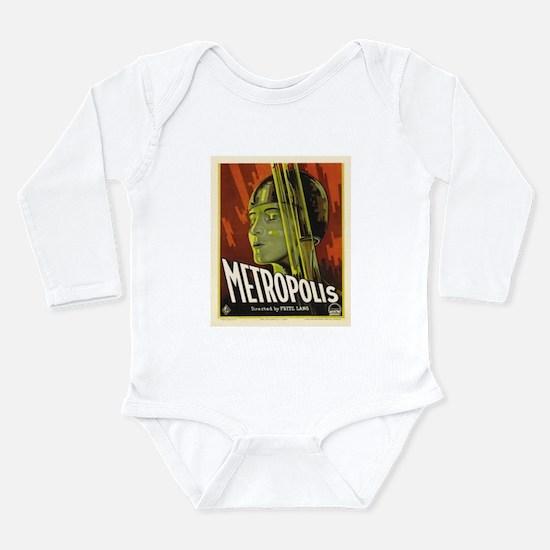 metropolis Long Sleeve Infant Bodysuit