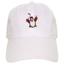 Hockey Penguin Baseball Cap