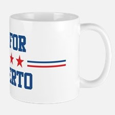 Vote for HERIBERTO Mug