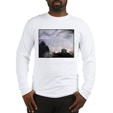 Stormy Ghost Town Long Sleeve T-Shirt