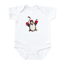 Hockey Penguin Infant Bodysuit