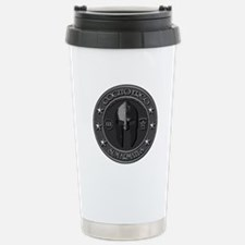 I Think, Therefore I Am Armed Travel Mug