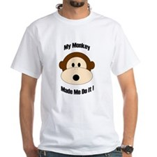 My Monkey Made Me Do It! Shirt