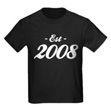 Established 2008 - Birthday T