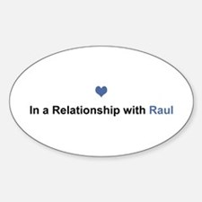 Raul Relationship Oval Decal