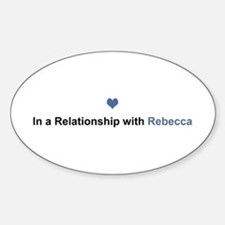 Rebecca Relationship Oval Decal